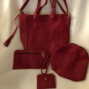 Handbags - Woman's Purse Set